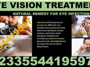NATURAL TREATMENT FOR VISION PROBLEMS