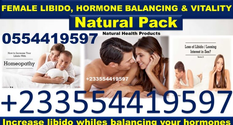 NATURAL SOLUTION FOR FEMALE HORMONE BALANCING