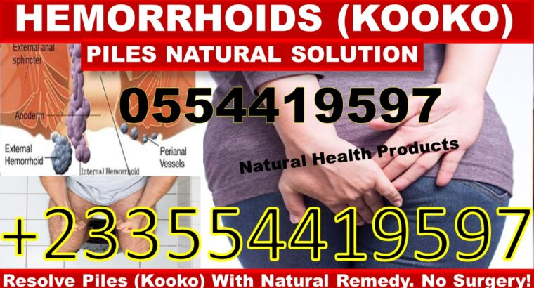 NATURAL REMEDY FOR HEMORRHOIDS
