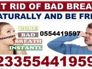 NATURAL SOLUTION FOR MOUTH ODOUR