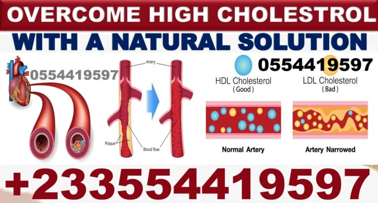 HOW TO GET RID OF HIGH CHOLESTEROL NATURALLY