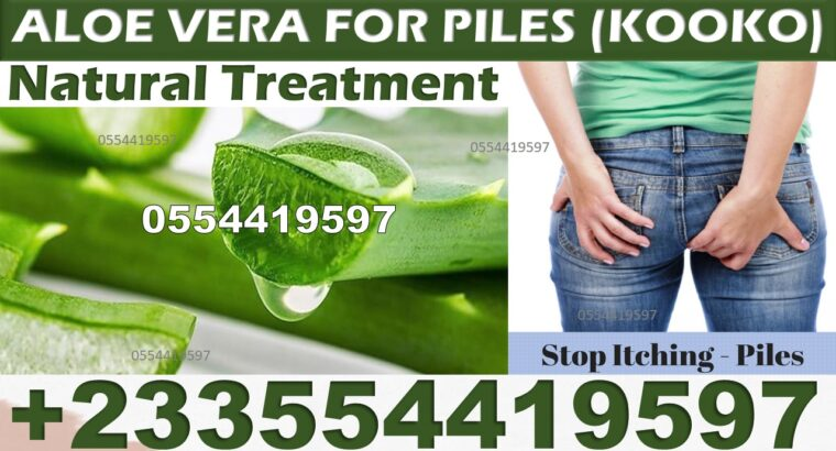 HOW TO GET RID OF PILES NATURALLY