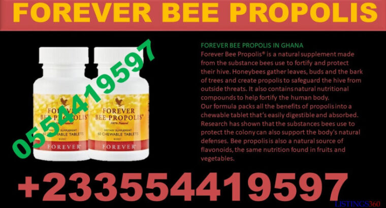 USES OF FOREVER BEE PROPOLIS