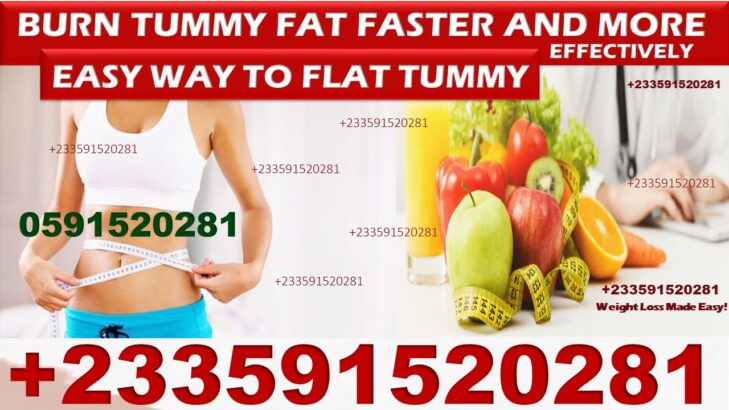 NATURAL SOLUTION FOR FLAT TUMMY IN GHANA