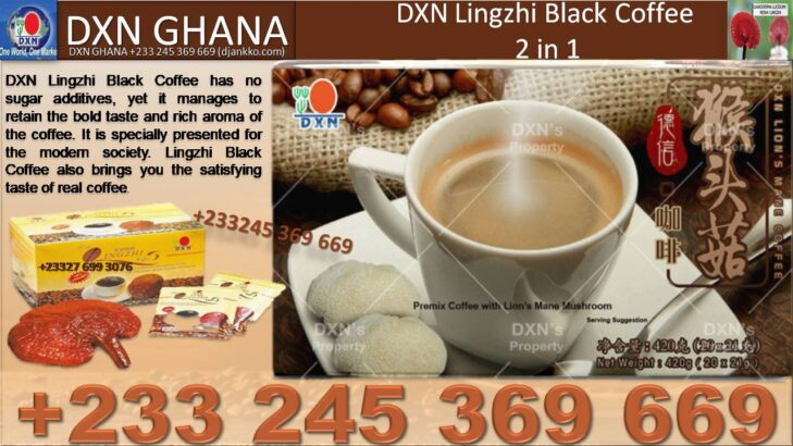 WHERE TO FIND DXN LINGZHI BLACK COFFEE IN GHANA