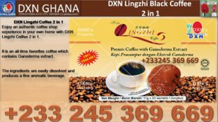 THE PRICE OF DXN LINGZHI BLACK COFFEE