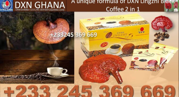THE PRICE OF DXN BLACK COFFEE IN GHANA