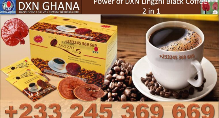 WHERE TO FIND DXN BLACK COFFEE IN GHANA