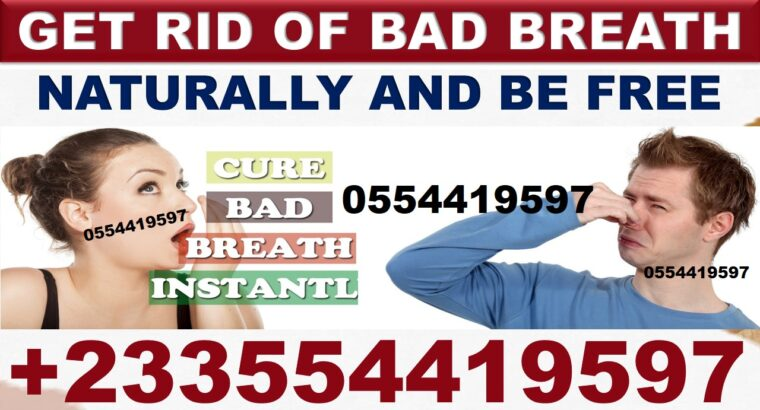 HERBAL TREATMENT FOR HALITOSIS