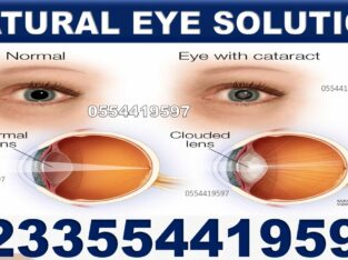 NATURAL SOLUTION FOR VISION PROBLEMS