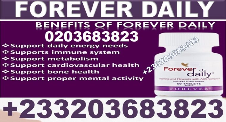 FOREVER LIVING PRODUCT FOR FOREVER DAILY