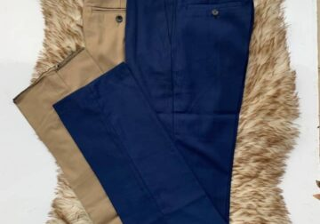 Quality Slimfit Gents Material trousers