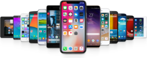 iphones,android phones and etc