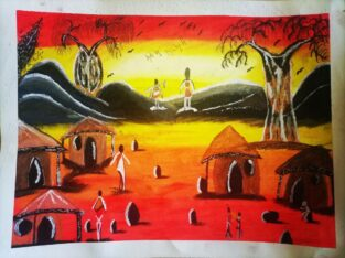 African setting